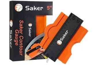 (13cm ) - Saker Contour Gauge (13cm Lock) Profile Tool- Adjustable Lock-Precisely Copy Irregular Shape Duplicator -Irregular Welding Woodworking Tracing - Must Have Tool for DIY Handyman, Construction