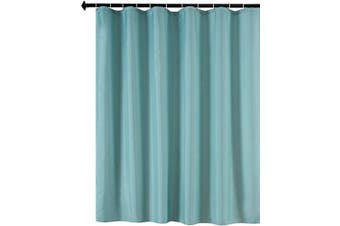 (180cm  X 180cm , Teal) - Biscaynebay Fabric Shower Curtain Liners Water Resistant Bathroom Curtain Liners, Teal 180cm by 180cm