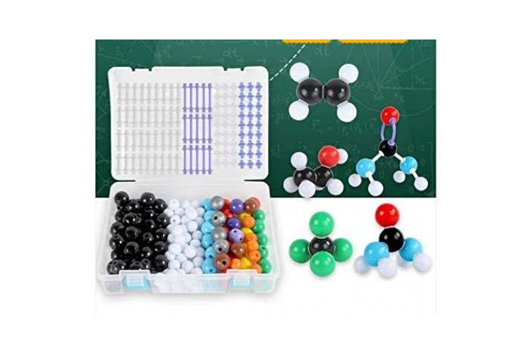 YTYC Structure Model Kits, Ensemble Molecular Model Molecules Organic Chemistry for Learning Raising Space Imagination with A Storage Box