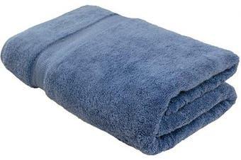 (1, Blue) - Cotton & Calm Exquisitely Plush and Soft Extra Large Bath Towel (Blue, 90cm x 180cm , Set of 1) Premium 100% Combed Cotton Oversized Luxury Bath Sheet, Pool Towel, Beach Towel