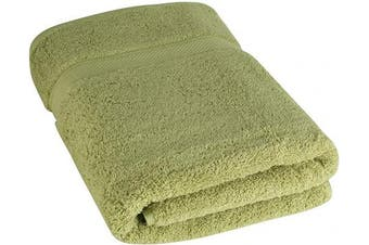 (1-Piece, Green) - Cosy Homery Luxury Egyptian Cotton Bath Towels | Large 55 X 28'' Ultra Soft & Highly Absorbent Luxury Bath Towel Set | 650 GSM Hotel Spa Quality Bath Sheets