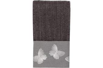 (One Size, Granite) - Avanti Linens Yara Fingertip Towel, One Size, Granite