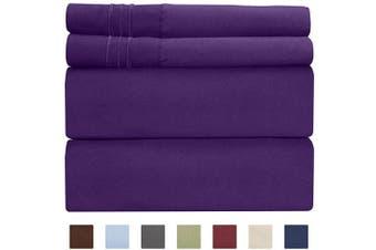 Shop For Purple Flannel Sheets
