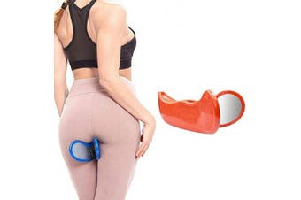 (Orange) - BAOLONG Hip Trainer Buttocks Lifting, New Pelvic Floor Muscle Medial Trainer, Buttocks Trainer,Yoga Body Shape Tools for Women,Hip Muscle & Inner Thigh Trainer,Correction Beautiful Buttocks for Women