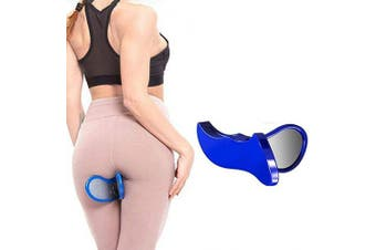 (Blue) - BAOLONG Hip Trainer Buttocks Lifting, New Pelvic Floor Muscle Medial Trainer, Buttocks Trainer,Yoga Body Shape Tools for Women,Hip Muscle & Inner Thigh Trainer,Correction Beautiful Buttocks for Women