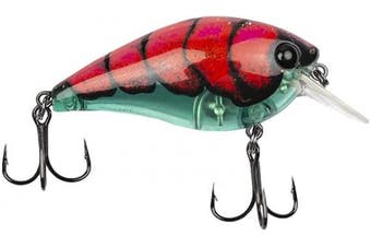 (Boiled Bug Aqua) - Catch Co Bubonic BUGZ Squarebill Shallow Diving Squarebill Crankbait