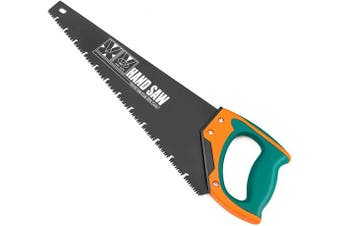 (46cm ) - AIRAJ 46cm Quick Cutting Hand Saw,Perfect for Sawing, Pruning,Trimming Gardening and Cutting Wood Drywall Plastic Pipes Branches and More Comfortable Ergonomic Non-Slip Handles