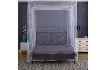 Tebery Ultra Large Mosquito Net with Carry Bag Screen Netting Bed Canopy Circular Curtain 2 Openings