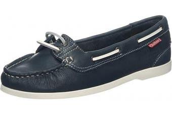 (6 UK, Blue Navy 001) - Chatham Women's Harper Boat Shoes