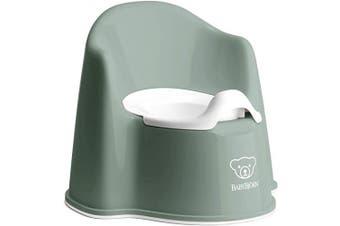 (Deep Green/White) - BabyBjörn Potty Chair, Deep Green/White