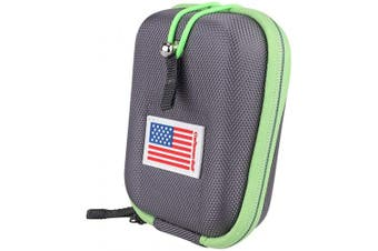 (Gray) - USA Flag Golf Range Finder Bag Hard Case for Tectectec Callaway and Other Most Brands