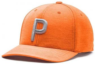 (One Size, Vibrant Orange) - PUMA Golf 2020 Men's P Hat (Men's