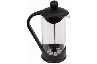 (06-Milk Frother) - Clever Chef French Press Single Serving Milk Frother | Perfect for Morning Coffee | 2 Cup Capacity (350ml/0.4 litre)