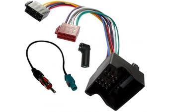 Aerzetix: Car Radio Antenna Kit - Harness, Cable, Adapters