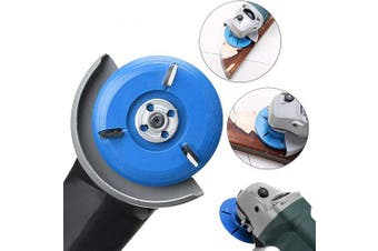 (3 Teeth) - CKE 90mm Diameter 16mm Bore Power Wood Carving Disc Angle Grinder Attachment