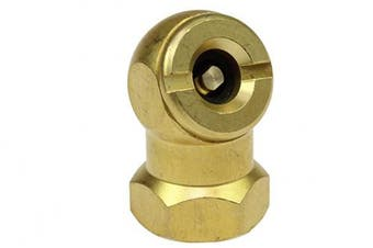 "(1/4"" FNPT BALL CHUCK W/CLIP) - Coilhose Pneumatics CH10 Closed Ball Chuck and Clip, 0.6cm FPT"