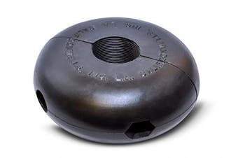"(2.5cm  - 0.6cm ID, 5"" Diameter) - Coxreels 20215 Hose Ball Stop for Spring Driven Reel, fits 2.5cm - 0.6cm Hose, 13cm OD x 2.5cm - 2.1cm ID"