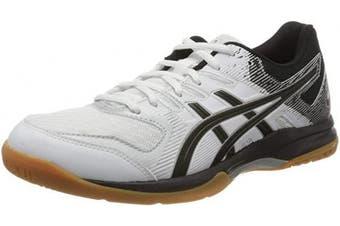 (4.5 UK, White White 100) - ASICS Women's Gel-Rocket 9 Indoor Court Shoe