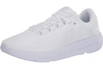 (5 UK, White White White White 100 100) - Under Armour Women's Charged Pursuit 2 Running Shoes