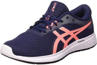 (9.5 UK, Peacoat Sun Coral) - ASICS Women's Patriot 11 Running Shoes