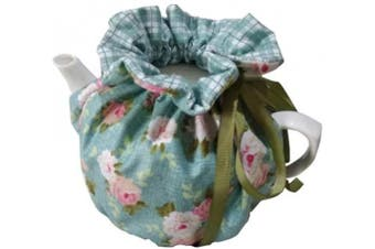 (Green) - Cheng Yi Modern Design 100% Cotton Printed Tea Cosy,Creative Kitchen Tea Pot Dust Cover,Tea Cosy Breakfast Warmer,Kettle Cover,Insulation and Keep Warm,CYFC1382 (Green)