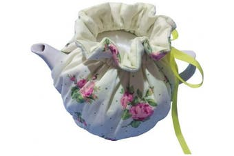(Beige) - Cheng Yi Modern Design 100% Cotton Printed Tea Cosy,Creative Kitchen Tea Pot Dust Cover,Tea Cosy Breakfast Warmer,Kettle Cover,Insulation and Keep Warm,CYFC1382 (Beige)