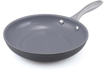 GreenPan Lima 20cm Ceramic Non-Stick Open Frypan, Grey - CW0002858