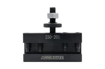 (BXA, 1.6cm ) - Accusize Industrial Tools Bxa Turning and Facing Holder, Working with 1.6cm Turning Tools, Quick Change Tool Holder, Style 1, 0250-0201