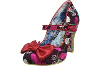(7.5 UK, Red Red Multi) - Irregular Choice Women's Fancy This Mary Jane