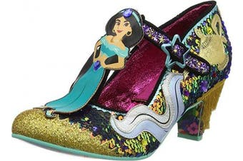 (6 UK, White White Blue a) - Irregular Choice Women's A Whole New World Mary Janes