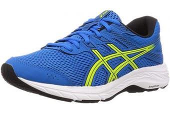 (7 UK, Directoire Blue Neon Lime) - ASICS Men's Gel-Contend 6 Running Shoe