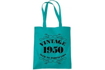 (Emerald) - 70th Birthday Gifts for Women Men Vintage 1950 Funny Tote Bags Present