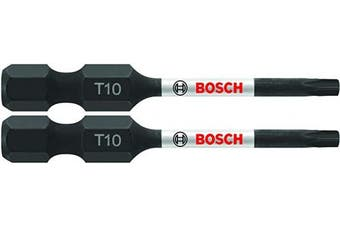 BOSCH ITT10202 2 pc. Impact Tough 5.1cm . Torx #10 Power Bits