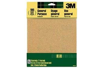 (Medium, Medium) - 3M 9002NA-20-CC Sandpaper Aluminium Oxide, 23cm by 28cm , Medium