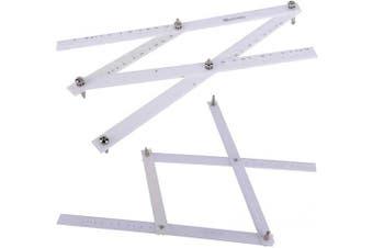 Artists Plexiglass Pantograph Artist Drawing Tool Reducer Enlarger Recreate Copy 10 Times Scaling Ruler