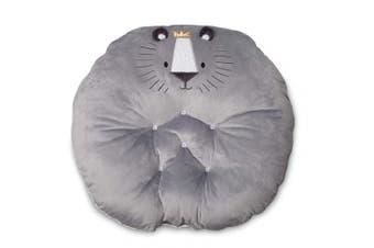 Boppy Preferred Newborn Lounger, Grey Royal Lion