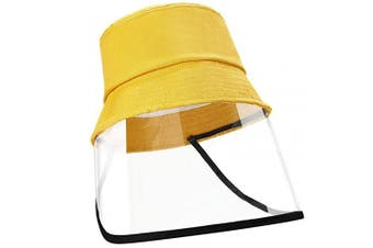 EXTSUD Face Shield Cotton Packable Sun Hats Dust Proof Suitable for Kids 49-51cm