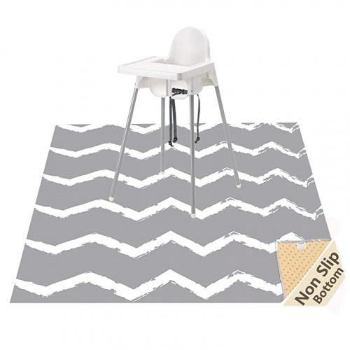 Non-Slip Floor Splash Mat and Table Cloth Portable Play Mat for Toddler Beige Arrow 51 Multi-Purpose Waterproof Baby Splat Mat for Under High Chiar and Arts
