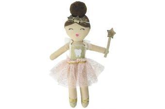 (BALLERINA) - Mud Pie Ballerina Tooth Fairy Doll