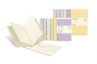 Moleskine Note Card With Envelope - Large Tea Green (Moleskine Messages)
