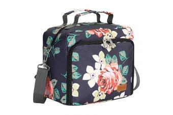 (one size, Rose) - ACECHA Insulated Cooler Bottle Bag - Leakproof Breastmilk Storage Bag Reusable Bottle Bag for Daycare with Adjustable Shoulder Strap for Nursing Women