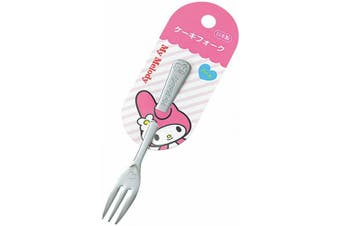 SANRIO My Melody Stainless Cake Fork 13.3cm (L) Flatware Serving Forks Kitchen Japan (Hart)