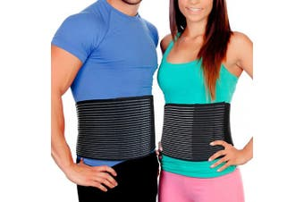 (S/M (60cm  - 90cm )) - Abdominal Binder Postpartum Belly Wrap – Tummy Tuck Belt Provides Comfortable Stomach Compression to Help Umbilical Hernia or Post Partum Girdle Binders for Healing and Support (S/M)