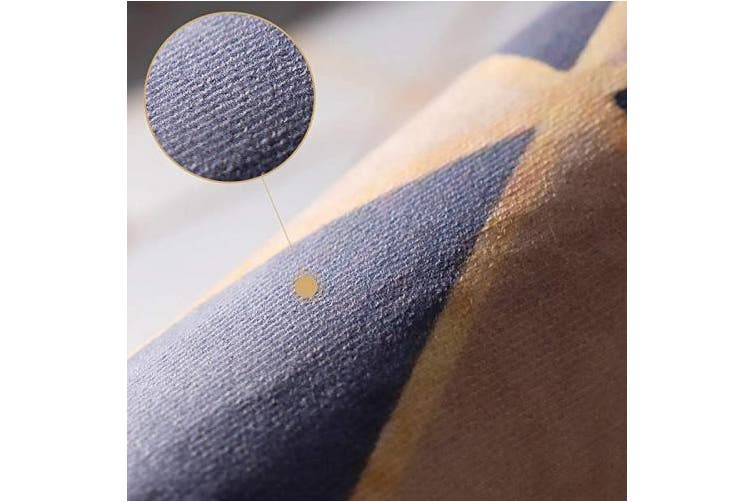 Vioncci Kitchen Rug Set 2 Pieces Absorbent Non Slip Kitchen Mat Microfiber Material Doormat Runner Rug Set 40cm 60cm 40cm 120cm Gradient Blue Matt Blatt