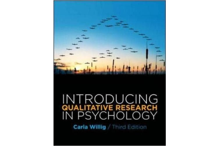 Introducing Qualitative Research in Psychology: Adventures in Theory and Method (UK Higher Education OUP Psychology)