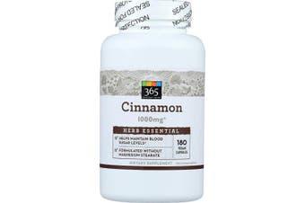 365 Everyday Value, Cinnamon 1000mg, 180 ct