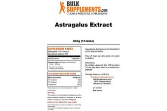 (500 Gramme) - Bulksupplements Astragalus Extract Powder (500 Grammes)