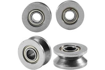 V Groove Pulley, V Groove Bearing Made From Carbon Steel For Durability And Long Service Life