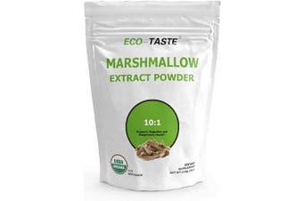 Organic Marshmallow Root Powder, 10:1 Extract Powder 120ml (114 Grammes)