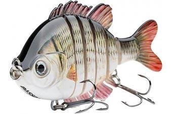 "(Carp) - Bassdash SwimPanfish Multi Jointed Panfish Bluegill Swimbaits Hard Topwater Bass Lures Fishing Lure Crank Saltwater 3.5""25ml"